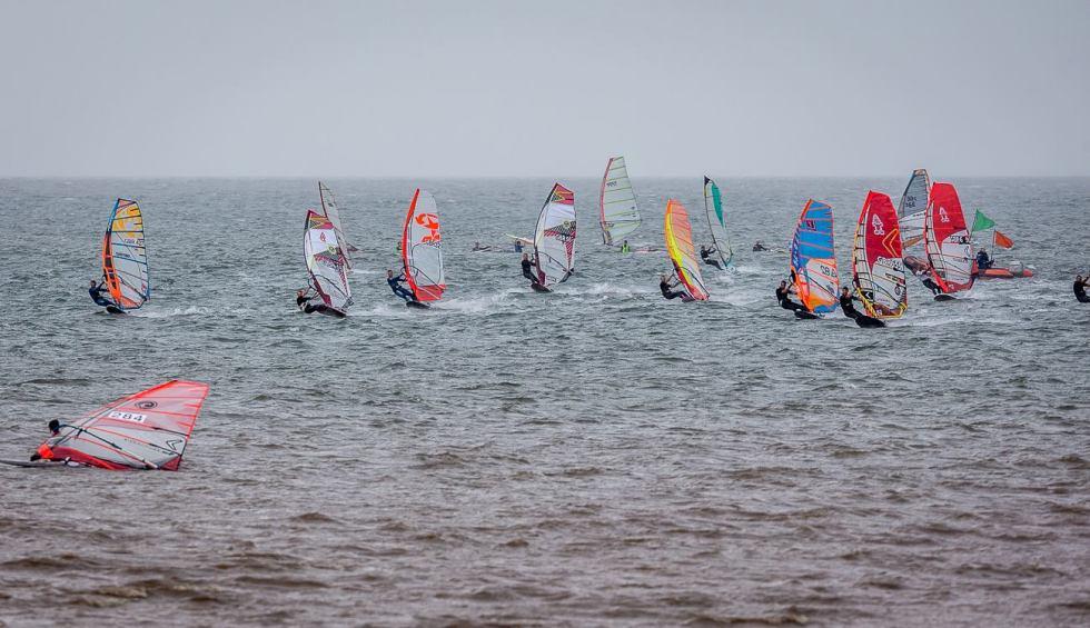 Jason Clarke Windsurfing